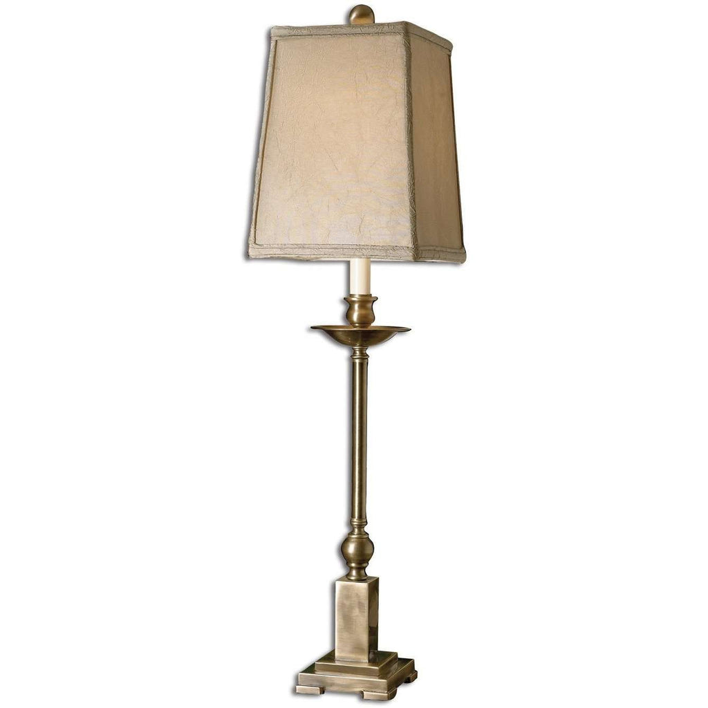 Uttermost Lowell Bronze Buffet Lamp