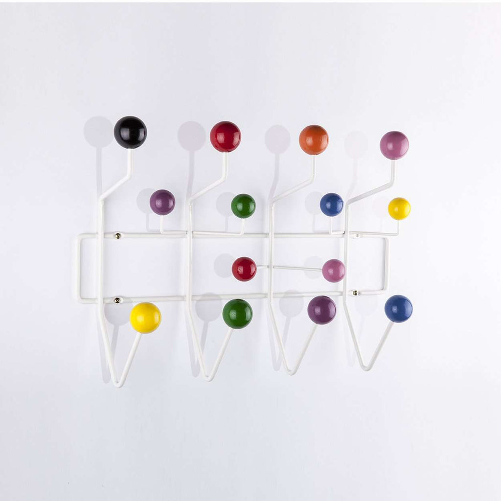Mid-Century Modern Reproduction Small Hang It All Coat Rack - Multicolor Inspired by Charles and Ray E.