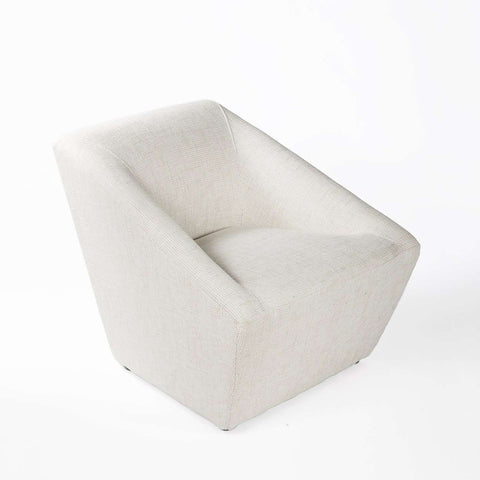 Modern Jamelia Lounge Chair - Beige