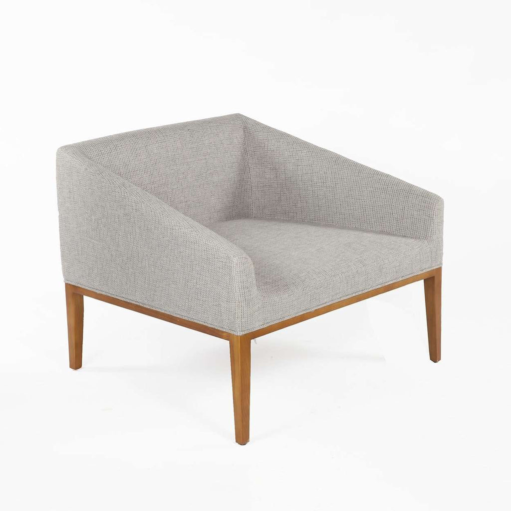 Modern Darrock Lounge Chair - Grey