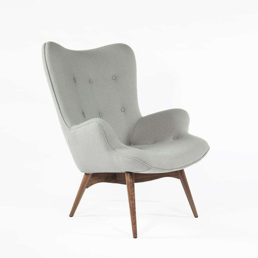 Mid Century Modern Reproduction Contour Lounge Chair   Grey Inspired By  Grant Featherston ...