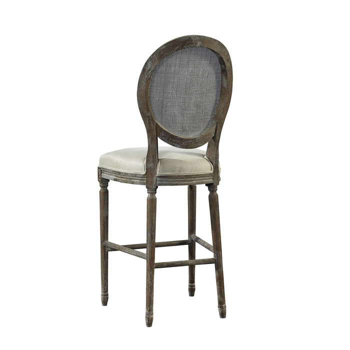 Spenzia Bar Stool - Rattan Back