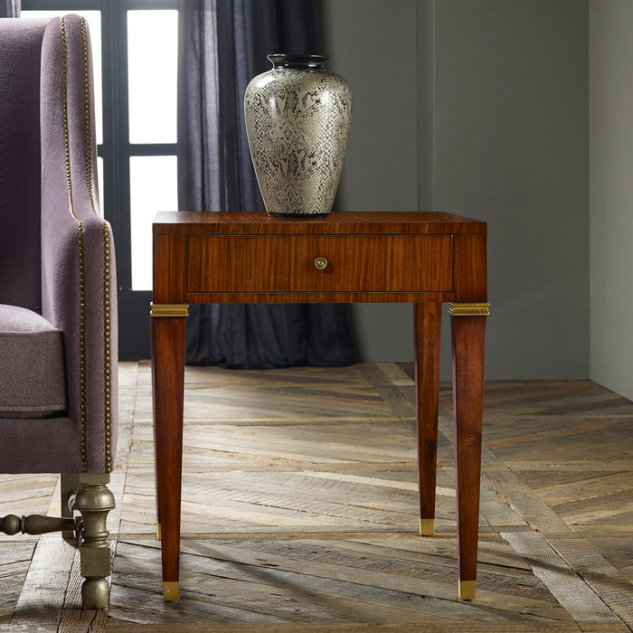 Modern Rosewood End Table