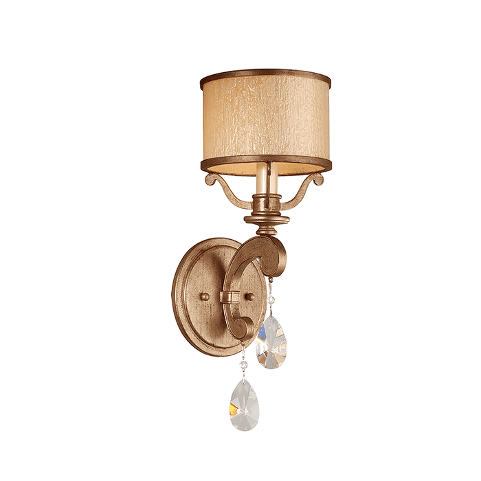 Roma 1Lt Wall Sconce Antique Roman Silver