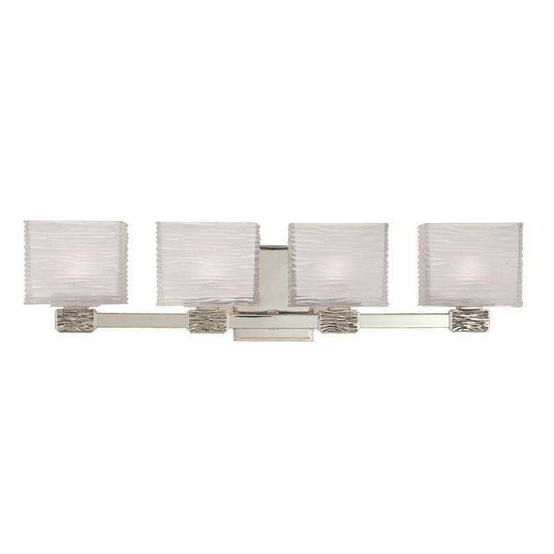 Hartsdale 4 Light Bath Bracket Satin Nickel