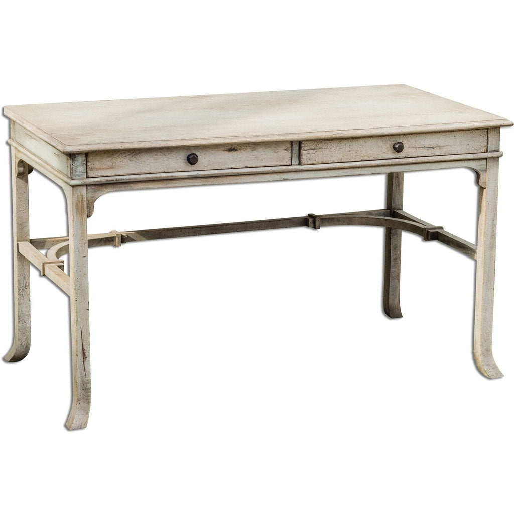 Uttermost Bridgely Aged Writing Desk