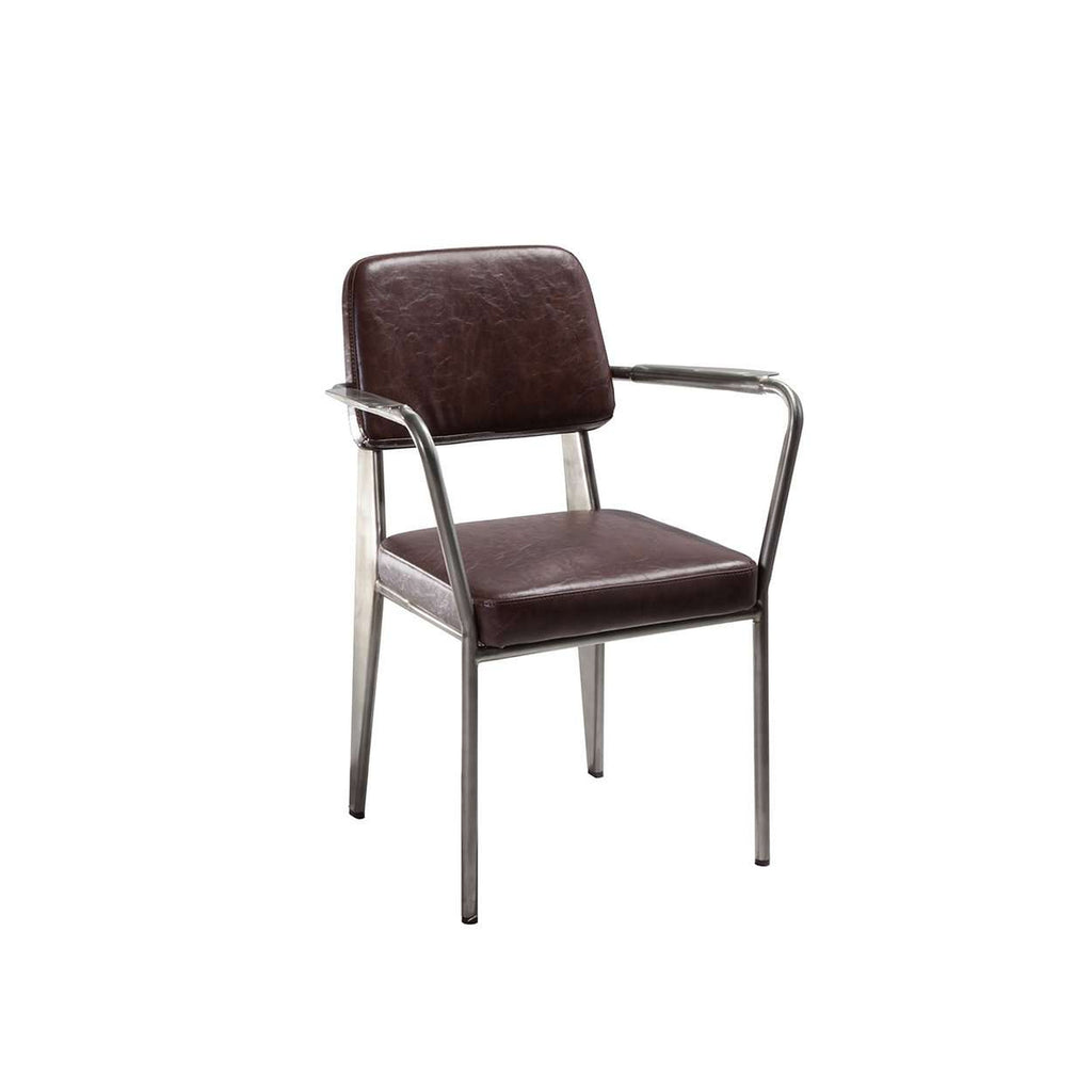 Standard Upholstered Armchair Prouve