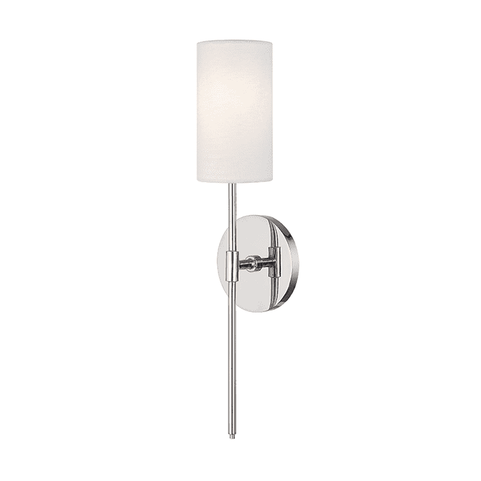 Olivia 1 Light Wall Sconce - Polished Nickel