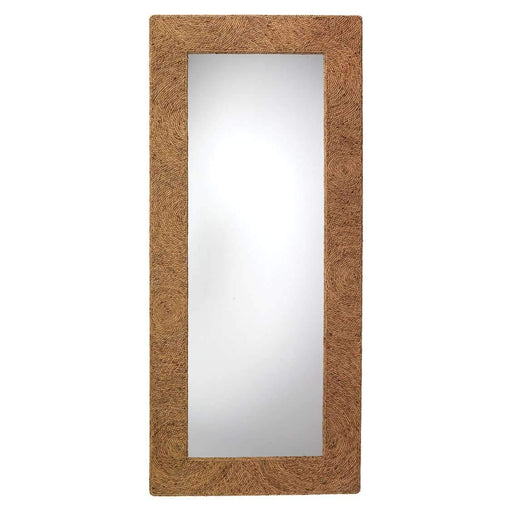 Harbor Floor Mirror in Seagrass
