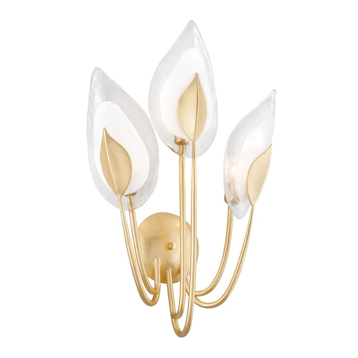 Blossom Gold Leaf Series Wall Sconce