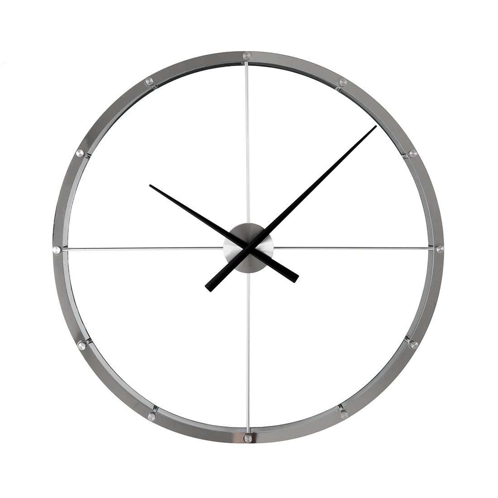 Giant wall Clock - Silver [new product]