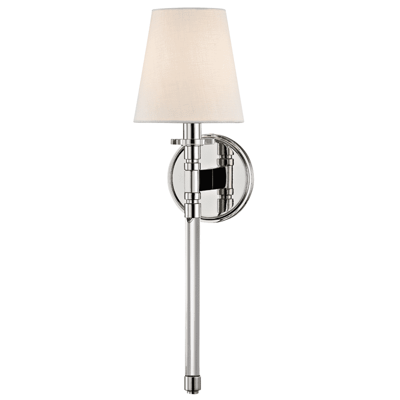 Blixen 1 Light Wall Sconce Polished Nickel