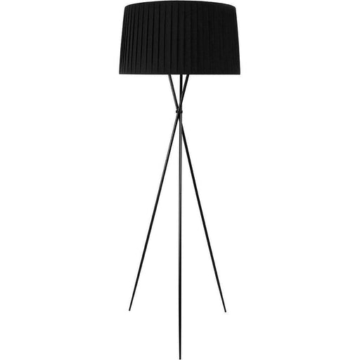 Mid-Century Modern Reproduction Tripode G5 Floor Lamp - Black Inspired by Santa and Cole