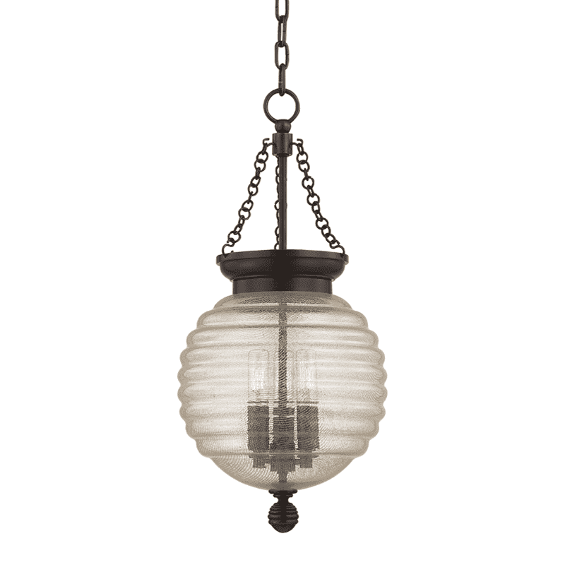 Coolidge 3 Light Pendant Old Bronze