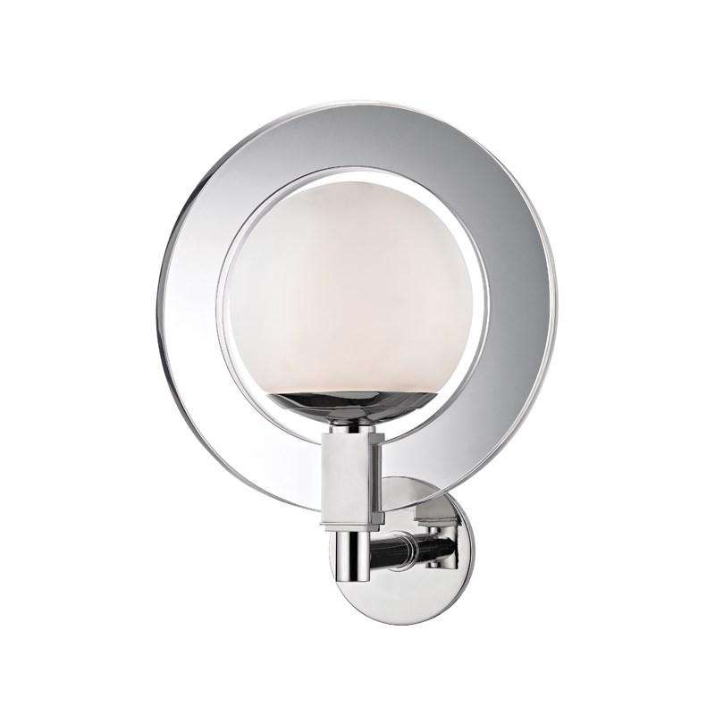 Caswell Led Wall Sconce Polished Nickel