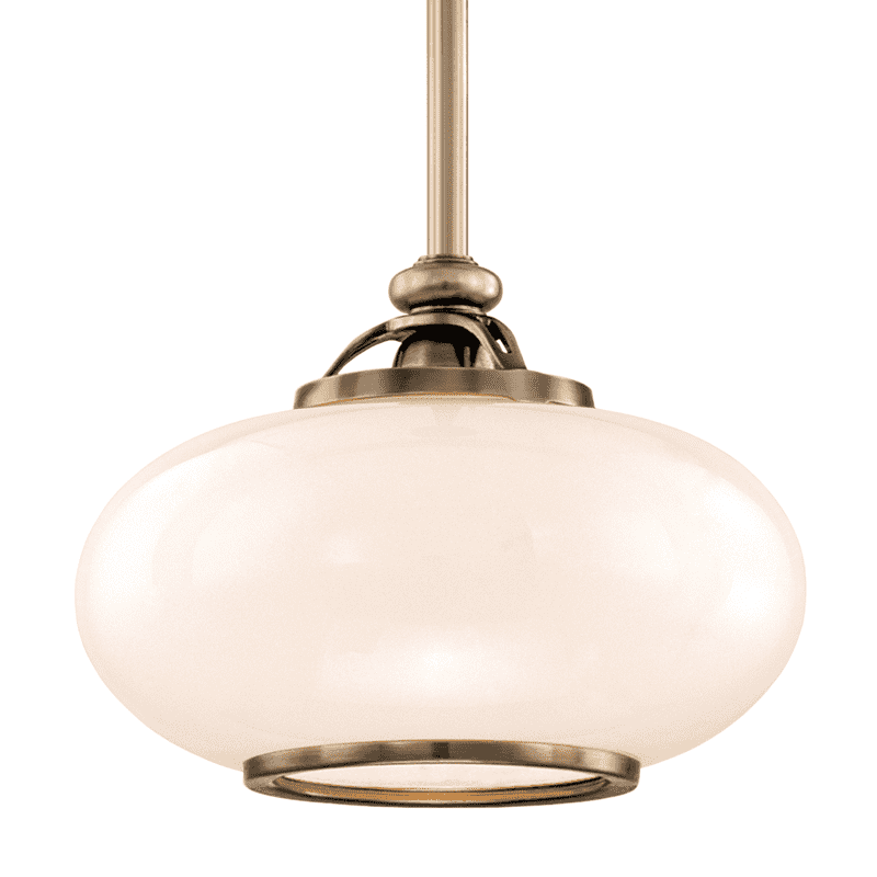 Canton 1 Light Pendant Old Nickel