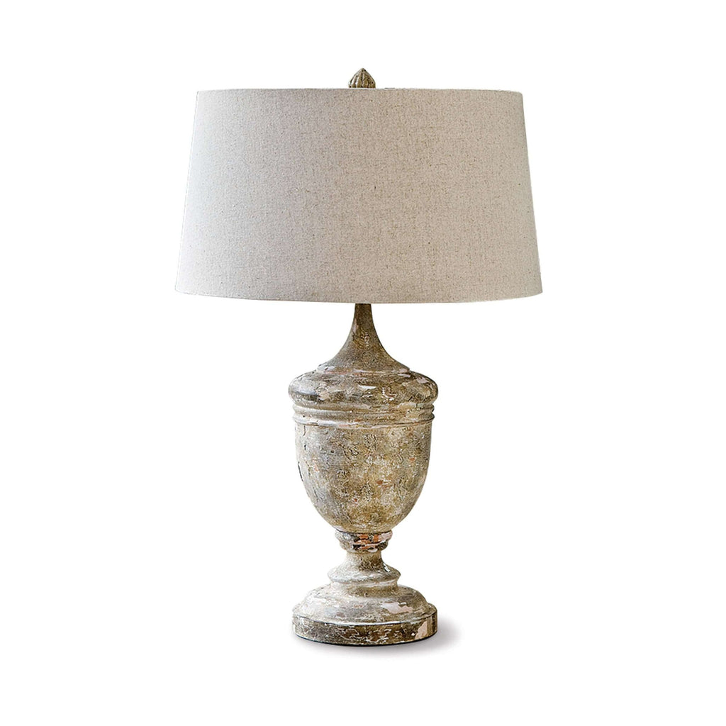 Gesso Vase Table Lamp