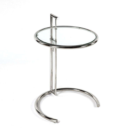 Mid-Century Modern Reproduction Eileen Grey Table Inspired by Eileen Gray