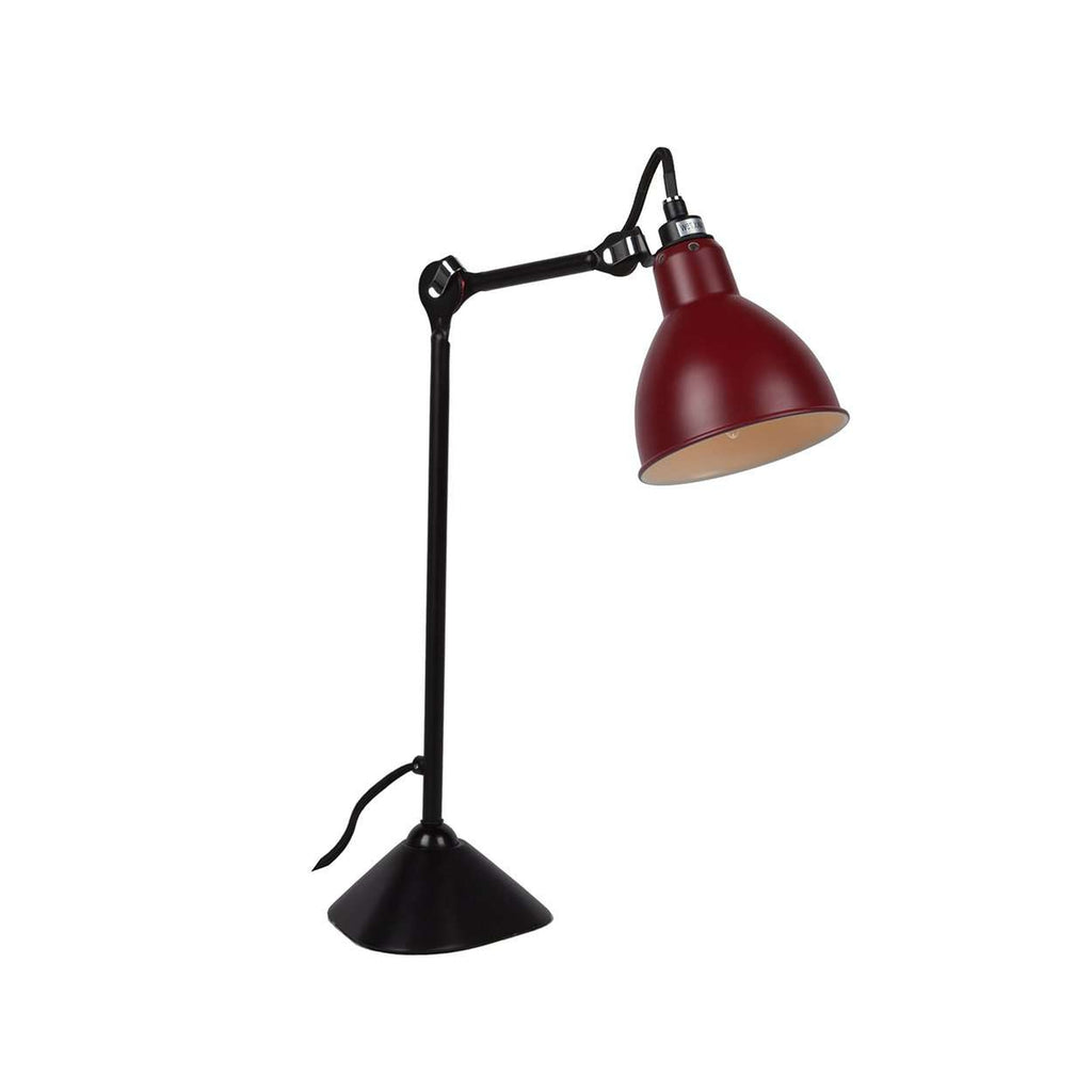 Mid Century Grace Table Lamp - Red