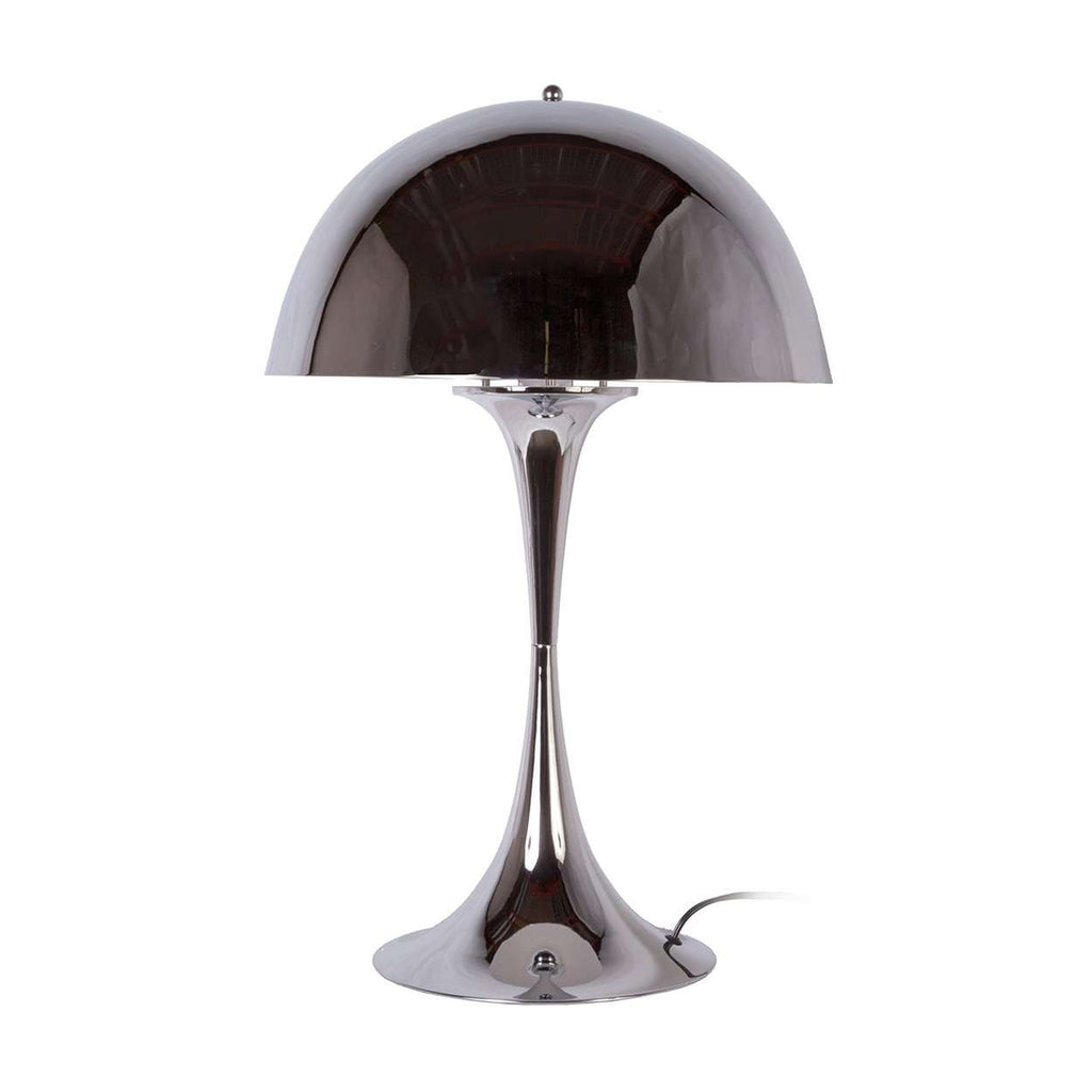 Panton Panthella Table Lamp Chrome
