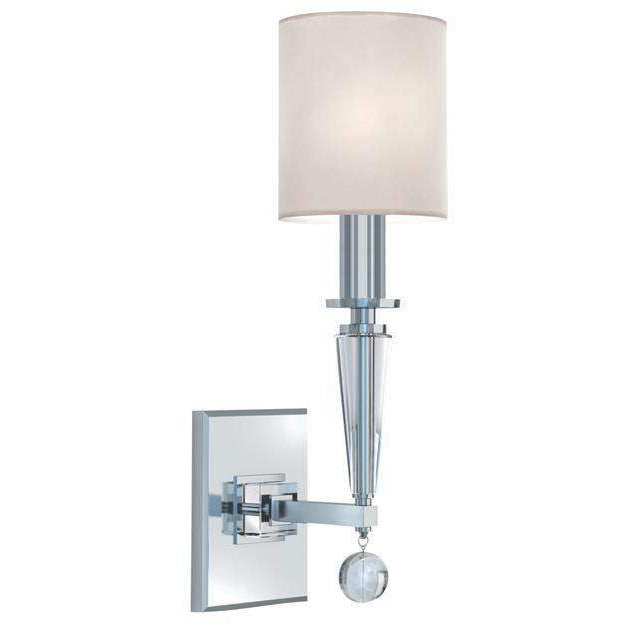 Paxton 1 Light Nickel Sconce
