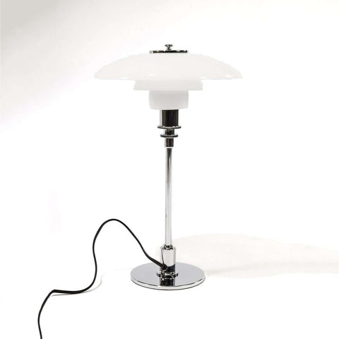 Poul Henningsen 3/2 Table Lamp - Chrome