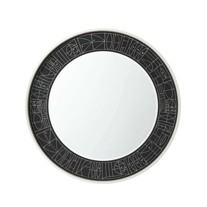 Ivory Painted Wall Mirror