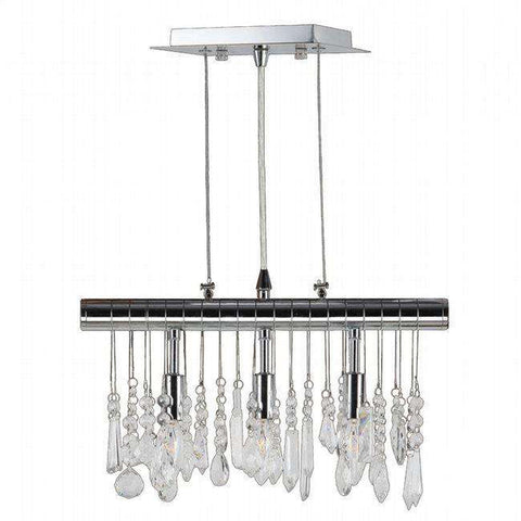 WWLIGHTING-W83110C16 - worldwide lighting - Nadia 3 Light Pendant