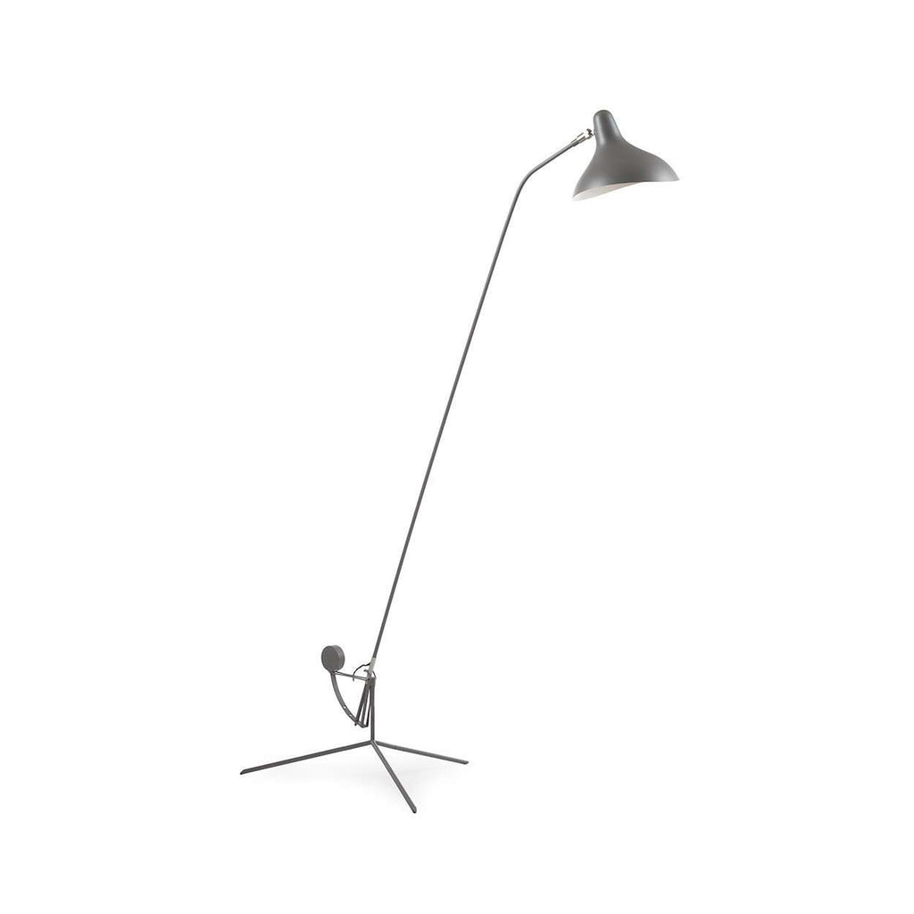 Mantis BS1 Floor Lamp - Grey with Tripod Base