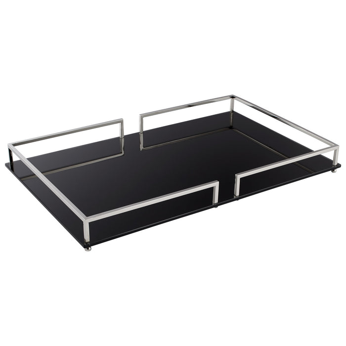 Small Contempo Noir Tray