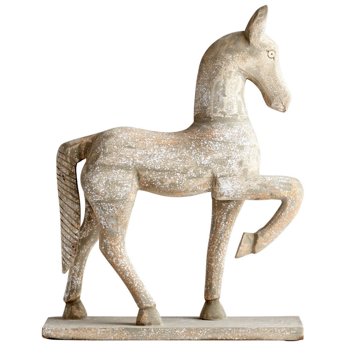 Rustic Canter Sculpture