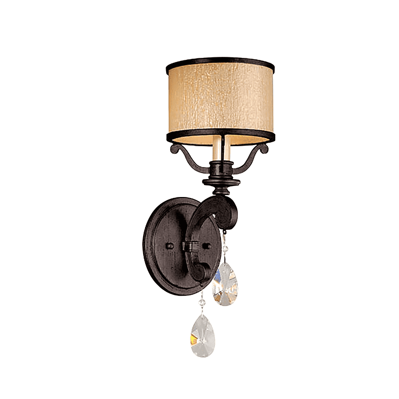 Roma 1Lt Wall Sconce Classic Bronze
