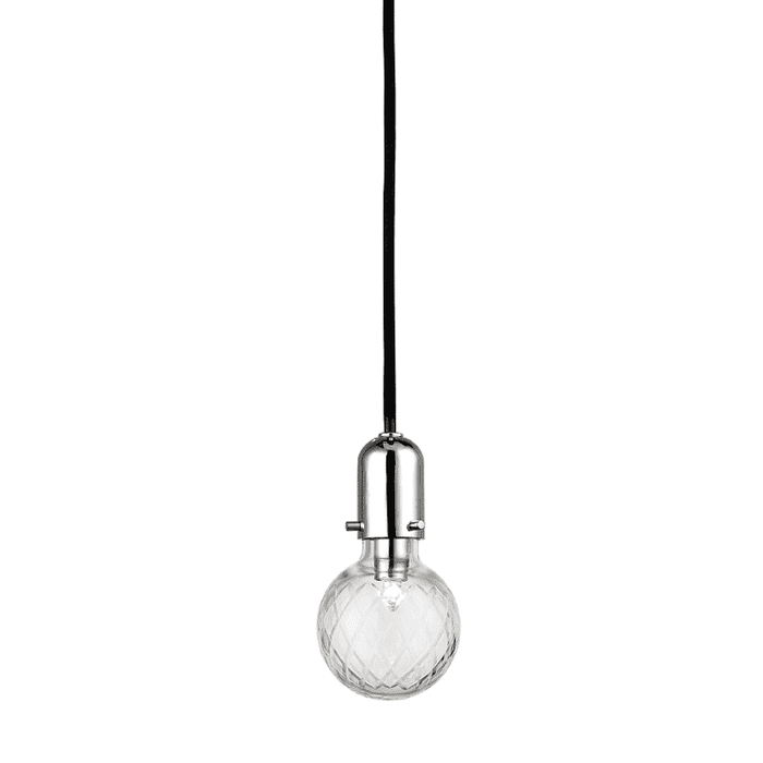Marlow 1 Light Pendant Polished Nickel
