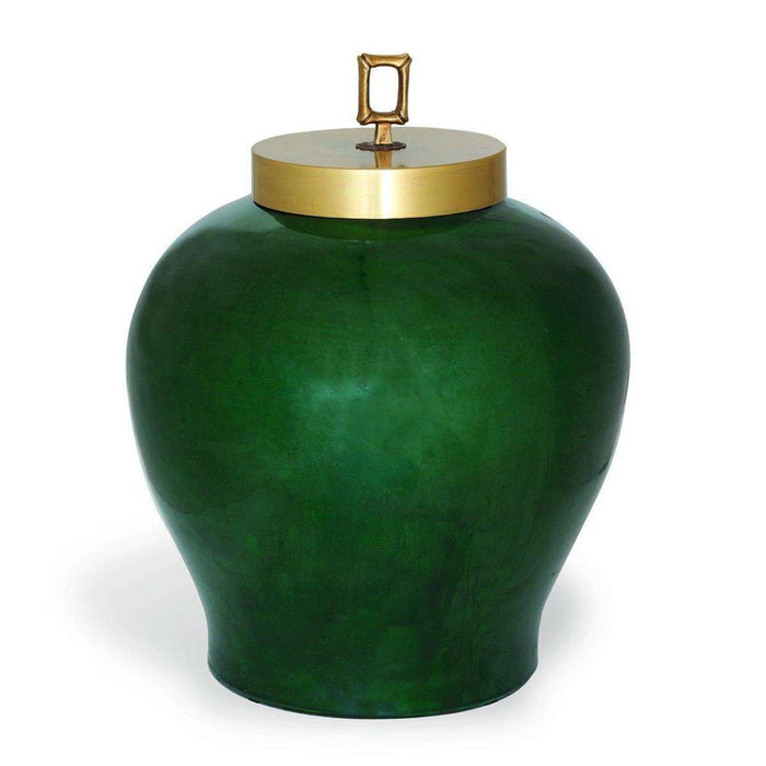 Melrose Emerald Jar