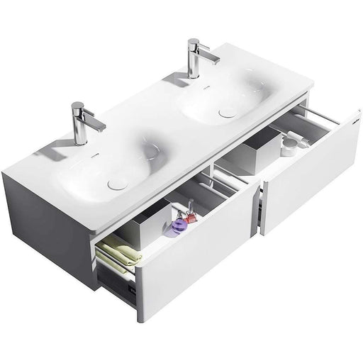 The Erina true solid surface sink and cabinet