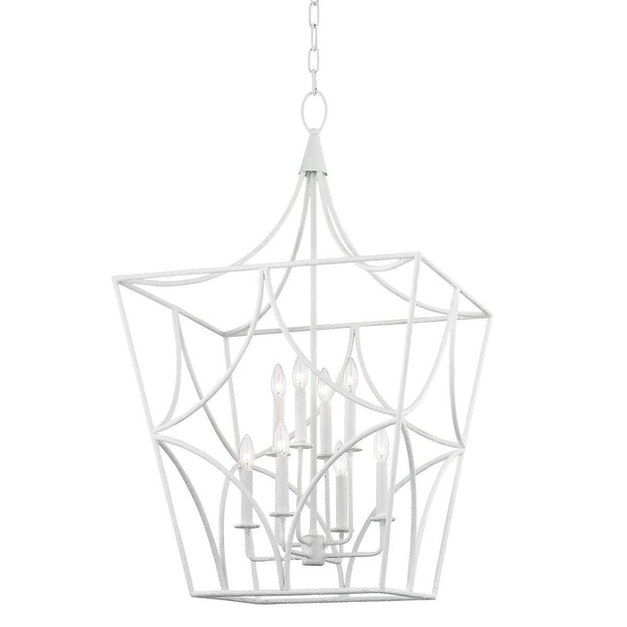 Green Point 8 Light Large Pendant