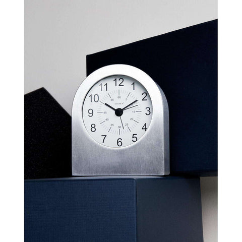 Aircraft Grade Aluminum Table Alarm Clock [50gift]