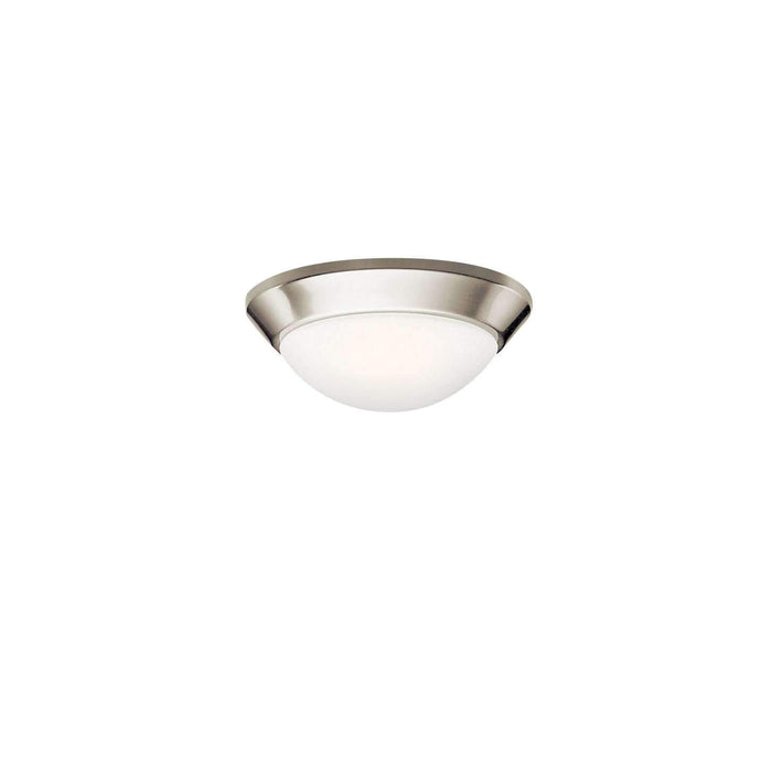 Ceiling Space Flush Mount 1 Light - Brushed Nickel