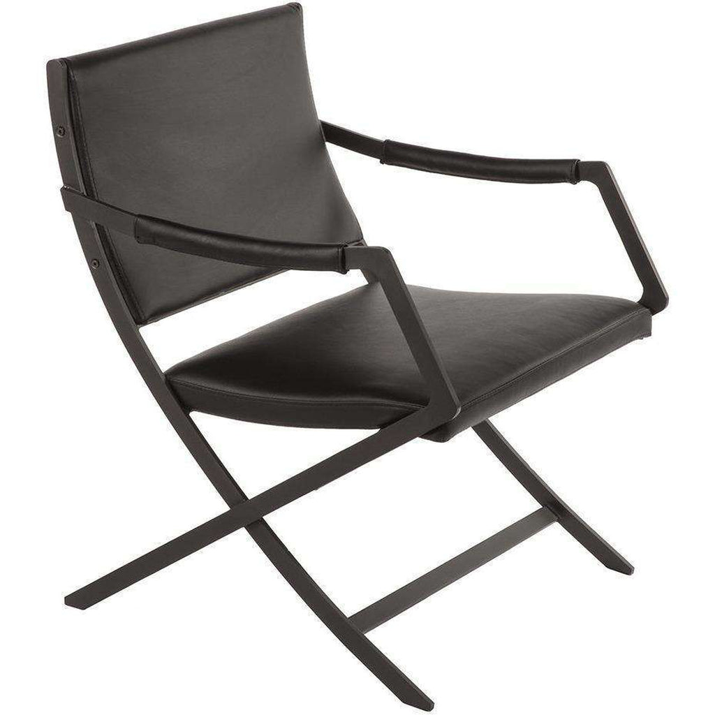 Modern Kern Lounge Chair - Black