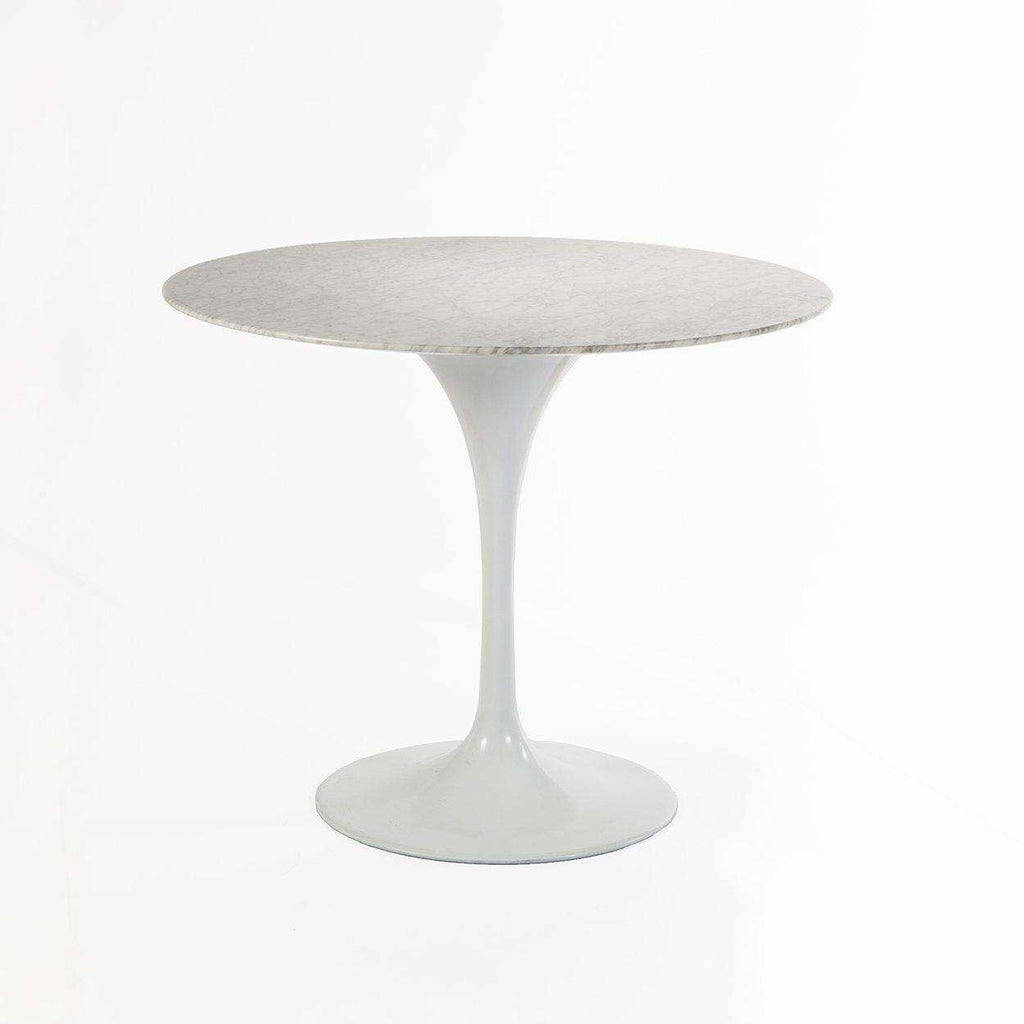 Mid-Century Modern Reproduction Marble Tulip Dining Table - 36 Inspired by Eero Saarinen