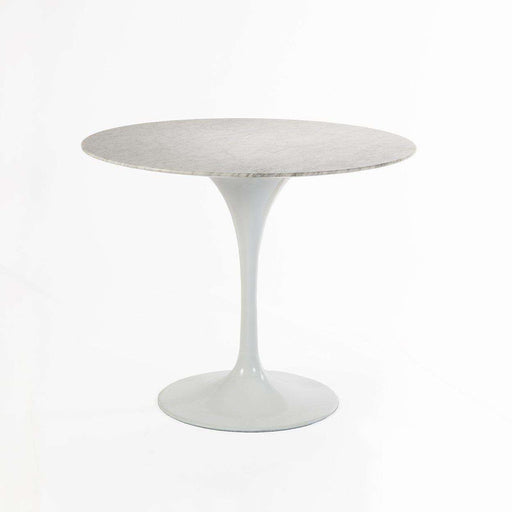"Carrara Marble Tulip Dining Table - 42"" Round"