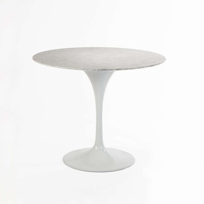 "Mid-Century Modern Reproduction Marble Tulip Dining Table - 30"" Inspired by Eero Saarinen"