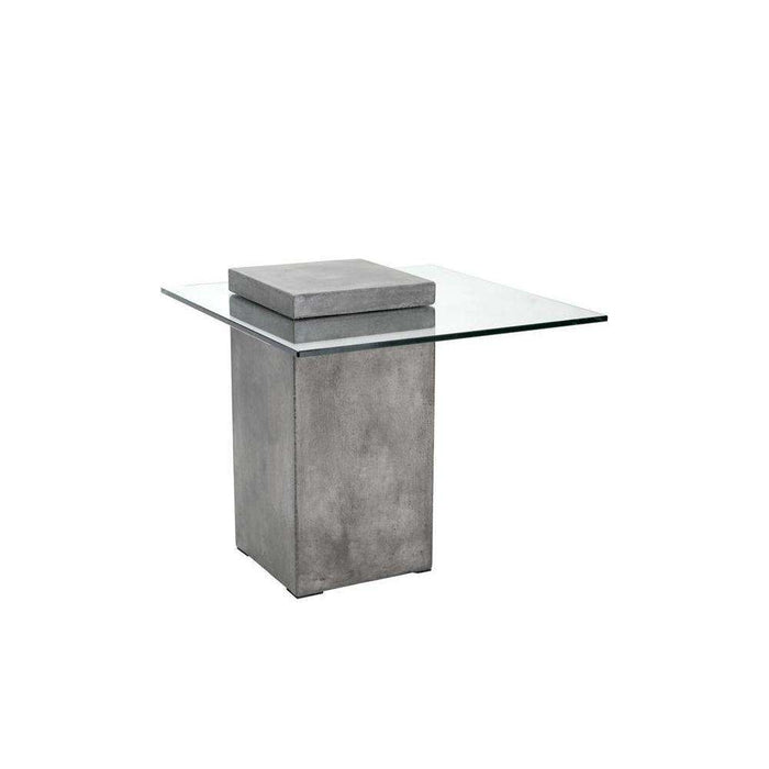 GRANGE END TABLE - ANTHRACITE GREY