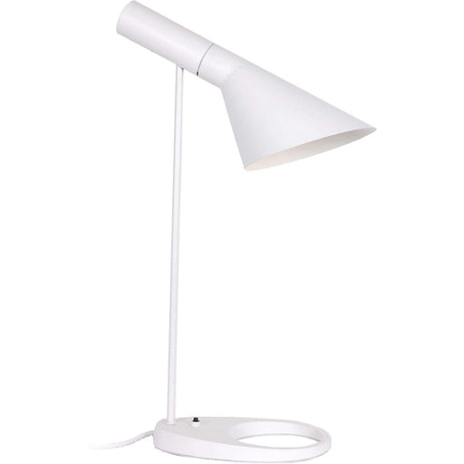 Mid-Century Modern Reproduction AJ Table Lamp - White Inspired by Arne Jacobsen