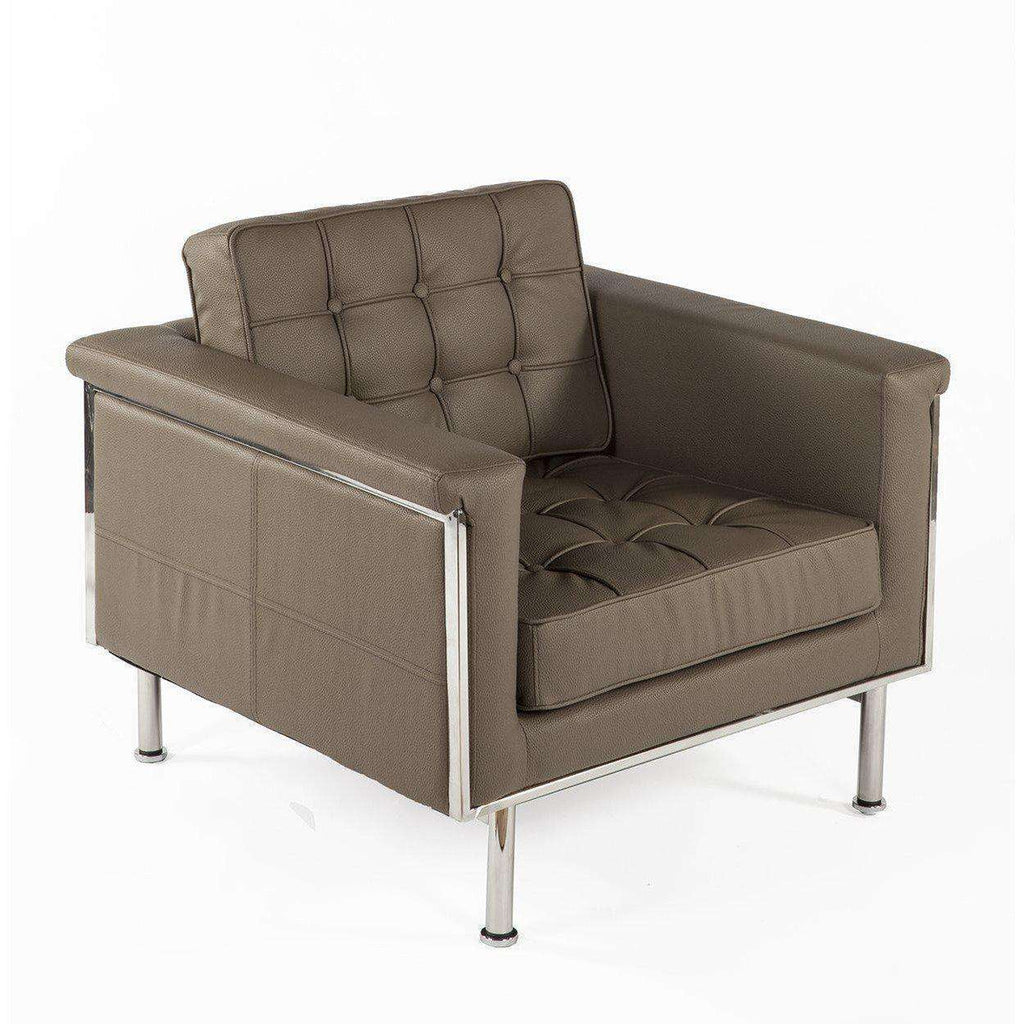 Modern Kyrell Lounge Chair - Taupe