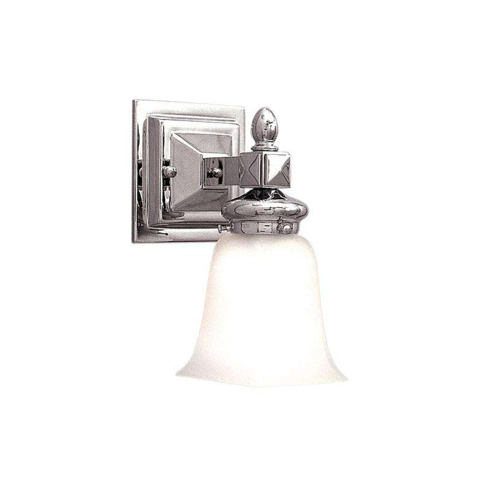 Cumberland 1 Light Bath Bracket Polished Nickel