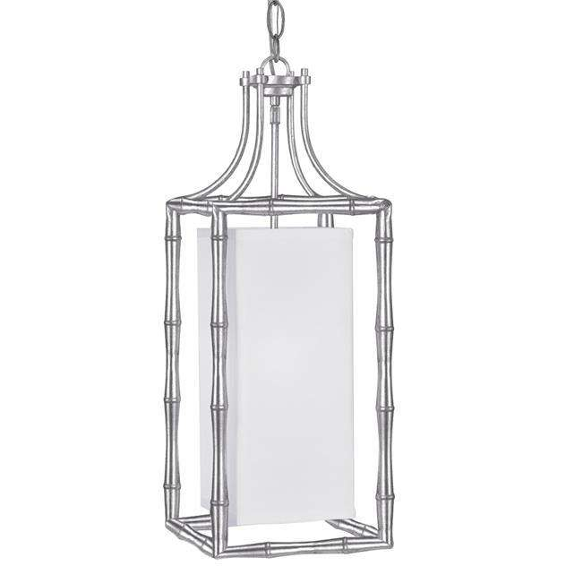 Libby Langdon Masefield 1 Light Antique Silver Pendant