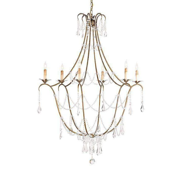 Elizabeth Chandelier - Gold