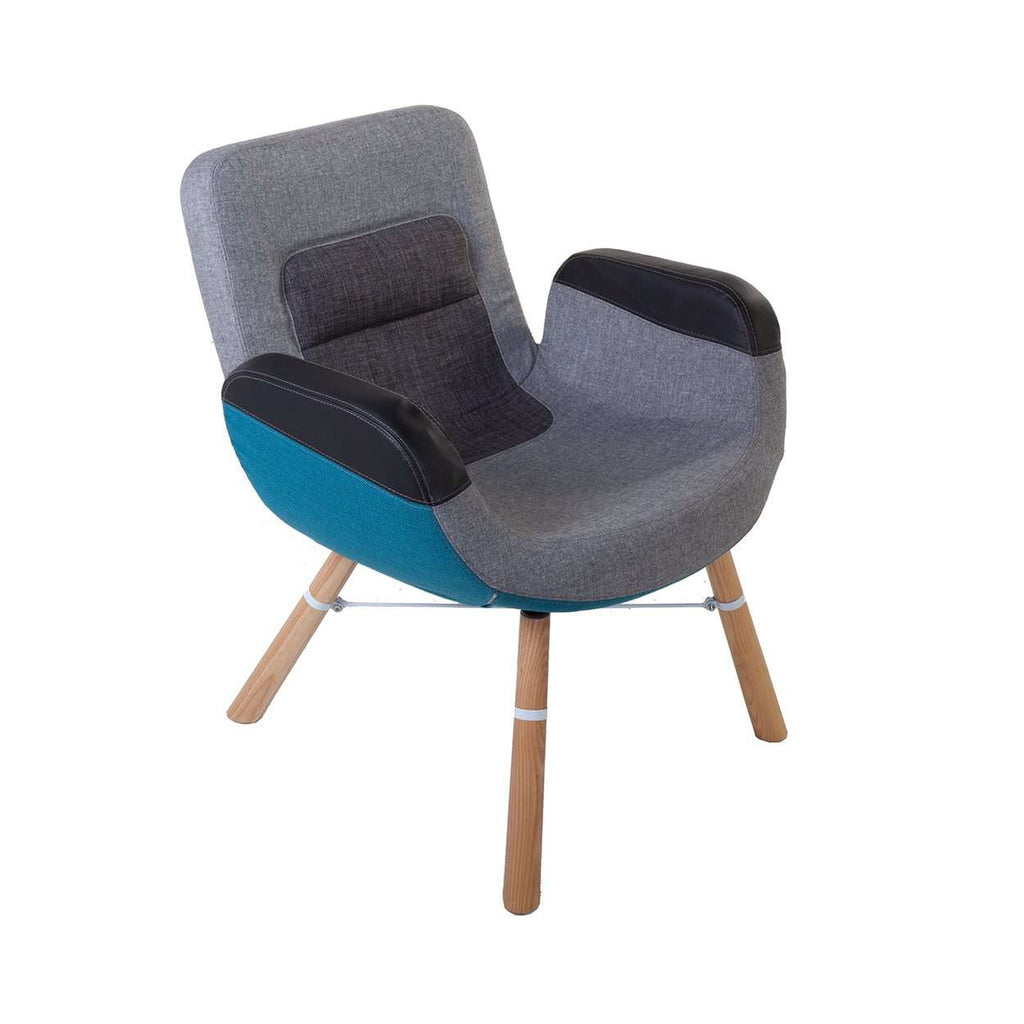 Modern Eastern River Lounge Chair