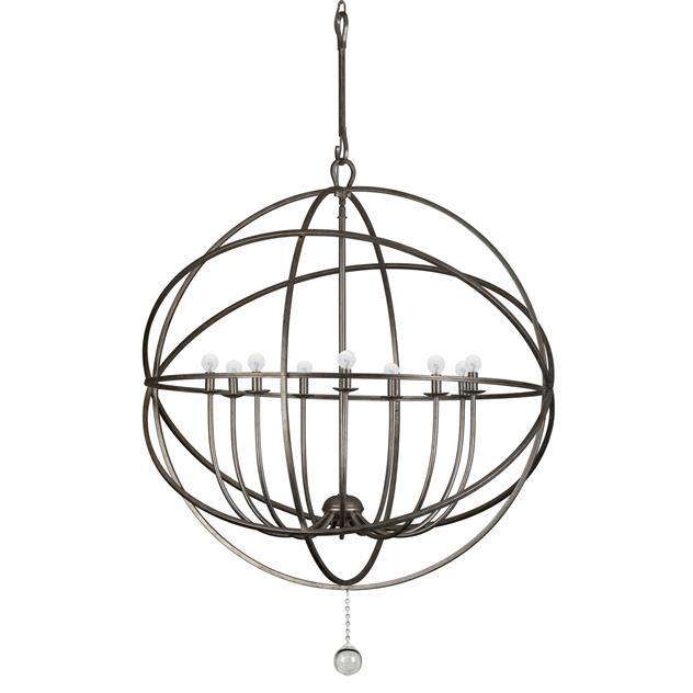 Solaris 9 Light Sphere Chandelier